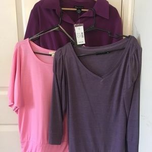 3 shirts bundle
